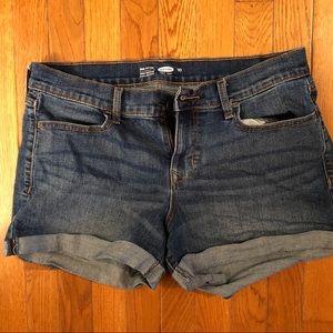 Old Navy Mid Rose Shorts